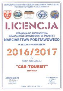 Licencja SITN 2016/2017