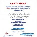 Car Tourist - referencje Holmenkol