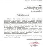 Referencje Bydgoski Klub Sportów Gimanstycznych ZAWISZA