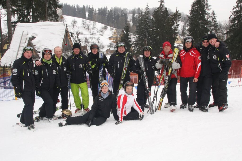 Kadra szkoly narciarskiej Car Tourist
