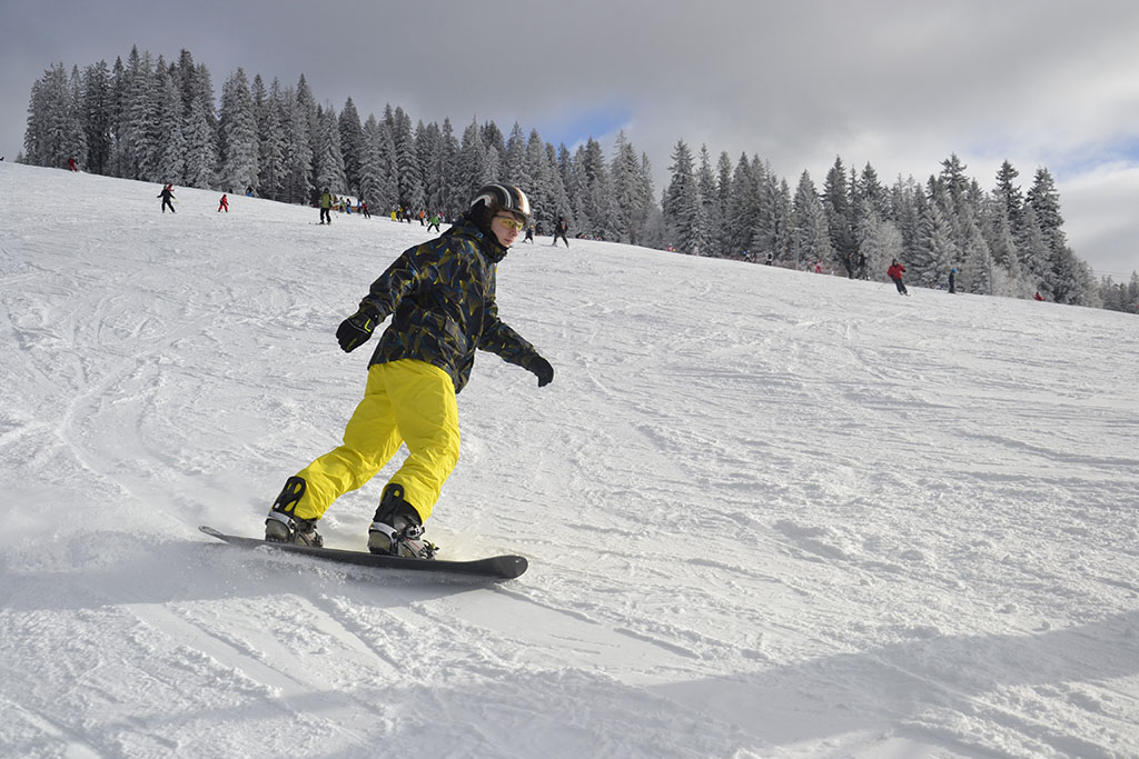 Obóz snowboardowy – Małe Ciche